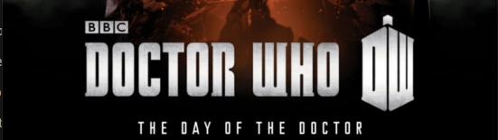 BBC Releases 50th Doctor Who Poster and Name