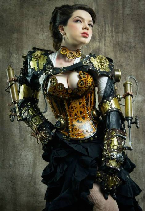 Steampunk Girl by Lady Clankington