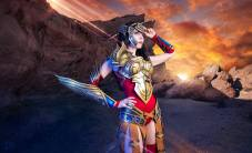 Kamui as Wonder Woman
