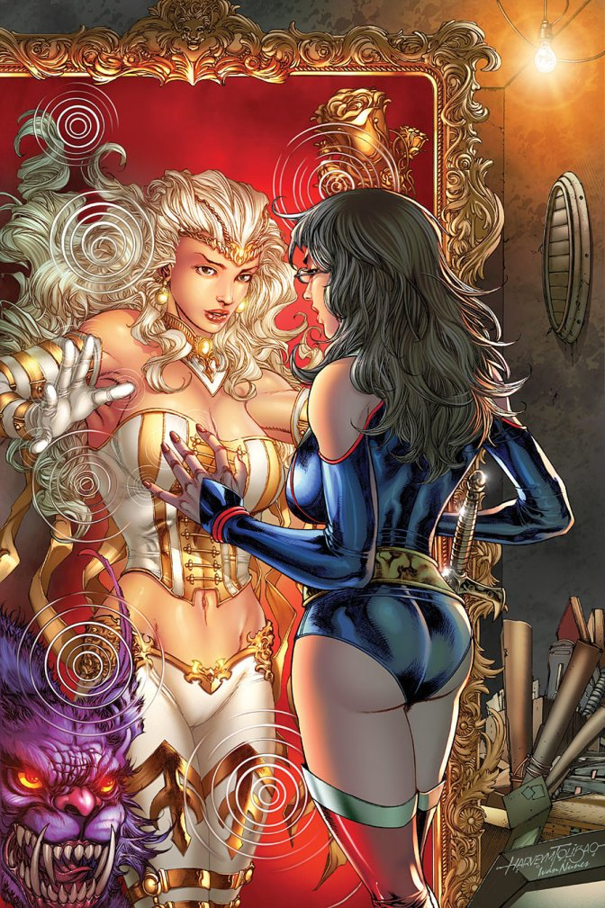 Comic Review: Grimm Fairy Tales VS Wonderland 1-3