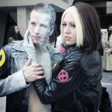 Iceman and Rogue
