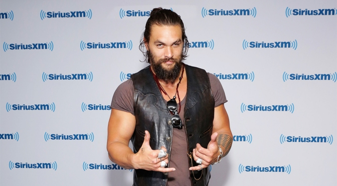 Jason Momoa Talks Aquaman: 'I Think We're Going to Be Kicking Some Ass'