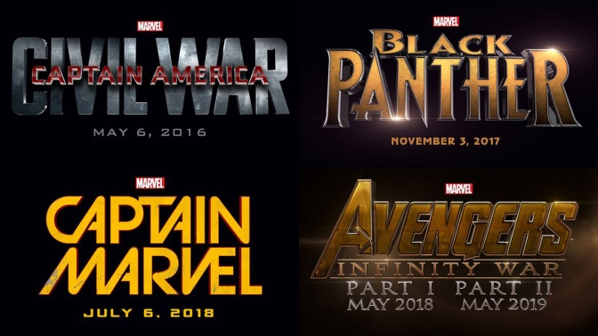 Marvel Announces New Wave of Superhero Movies