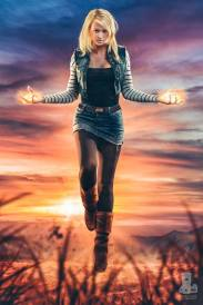 Danielle DiNicola as Android 18