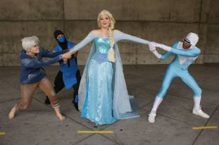 Elsa and Suitors