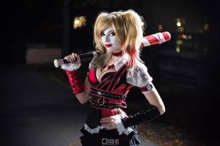 Ruyy Lavitz as Harely Quinn