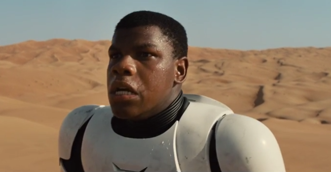 'Star Wars' Actor Responds to 'Black Stormtrooper' Comments: 'Get Used To It'