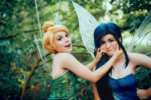 Tinker Bell and Silvermist