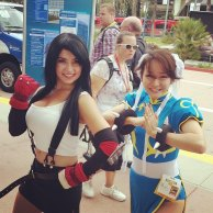 Tifa and Chun-Li