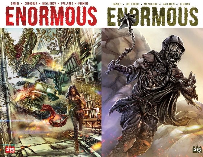 20th TV, New Regency Television Take On 'Enormous' Comic Book Adaptation
