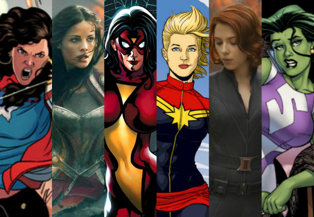 The Changing Role of Woman In Comics