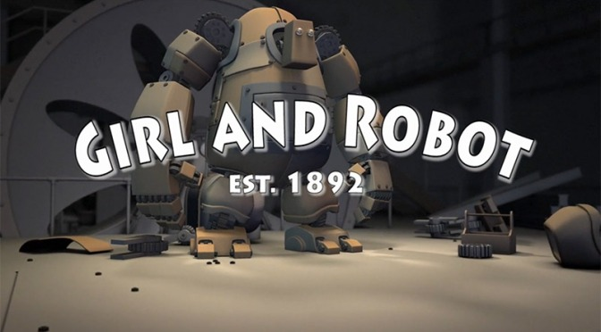 "Movie Monday: ""Girl and Robot"" – by The Animation Workshop"