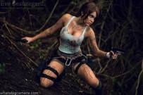 Eve Beauregard as Lara Croft