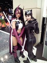 Huntress and Catwoman