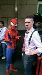 J. Jonah Jameson and some other guy.