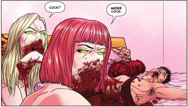 Comic Review: Lesbian Zombies From Outerspace