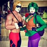 The Joker and Harley Quinn Genderbend