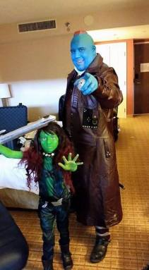 Yondu and Gamora