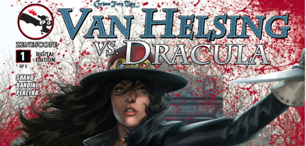 Comic Review: Van Helsing Vs Dracula