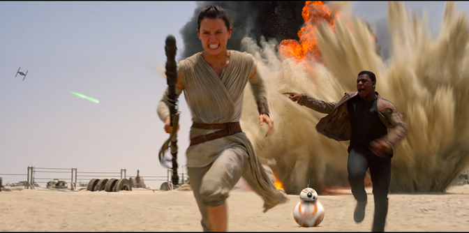 Star Wars:TFA Closing In On 'Harry Potter' International Box Office