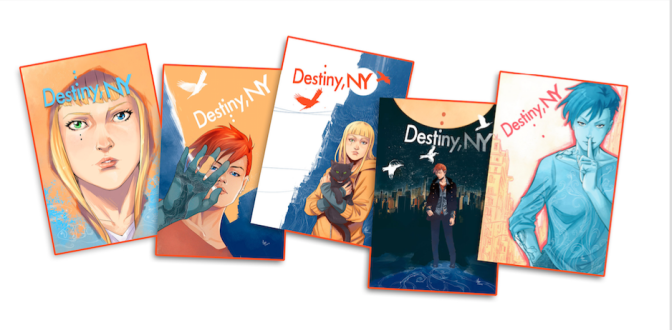 """Destiny, NY,"" A Graphic Novel from Robyn Hood's Pat Shand & Manuel Preitano Launches on Kickstarter"