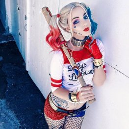 Harley Quinn Suicide Squad by HeidiMaetrix