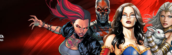 Red Agent-The Human Order Issues #1 & #2 of 12 – Zenescope