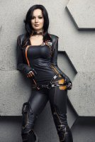 Mass Effect Miranda Lawson by Hannuki