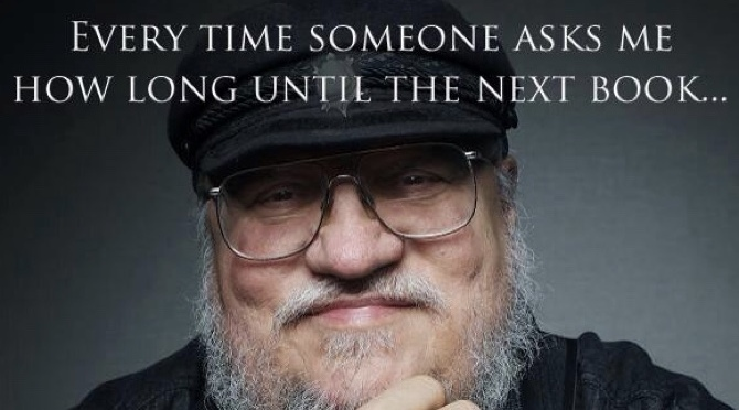 "George R.R martin and ""The Sons of The Dragon"""