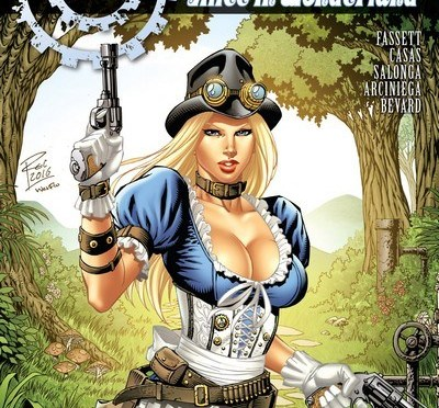 Grimm Fairy Tales – Steam Punk – Alice in Wonderland – 1 Shot Review