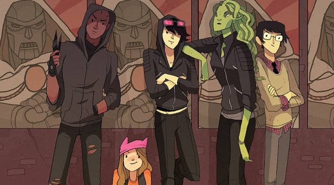 "Marvel Introduces Their ""Runaways"""