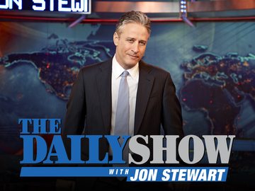 Jon Stewart visits late night