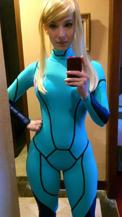 Zero Suit Samus Aran by Enji Knight