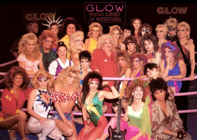 GLOW Coming to Netflix In June