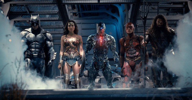 Pre-Trailers for Justice League movie