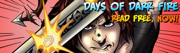 Days of Dark Fire #1 – Sinopia Comics Inc. – Review and a few thoughts