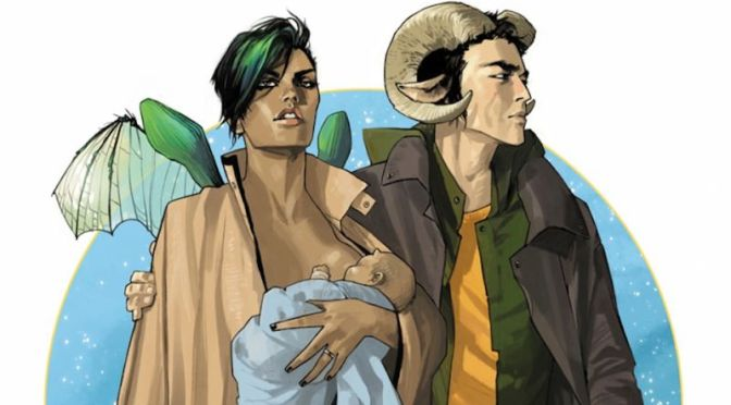 Comic Review: Saga Volume 1