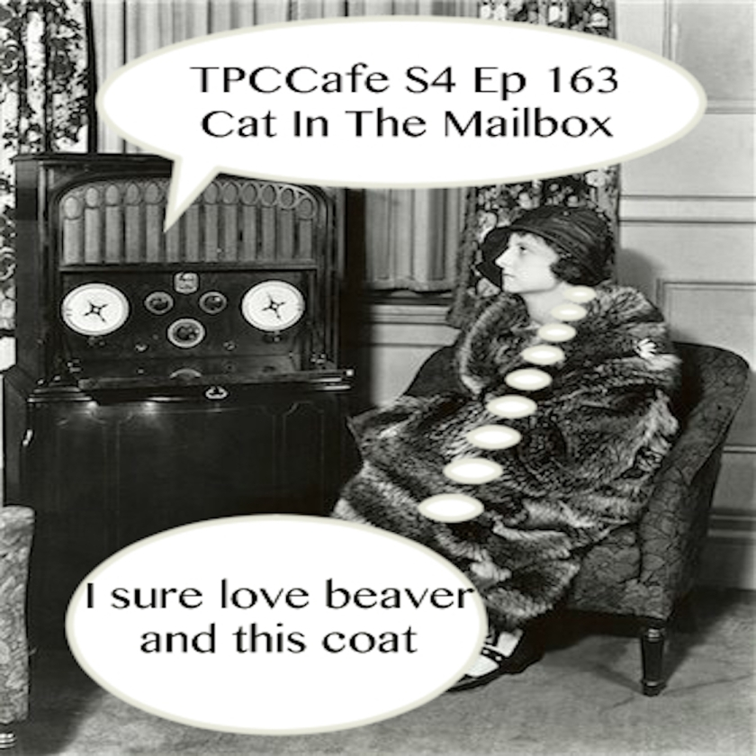 TPCCafe S3 Ep 163 Cat In The Mailbox