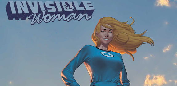 Comic Review:Invisible Woman #1 (of 5) – Marvel Comics
