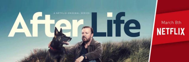 AFTERLIFE SEASON #1- RICKY GERVAIS- NETFLIX